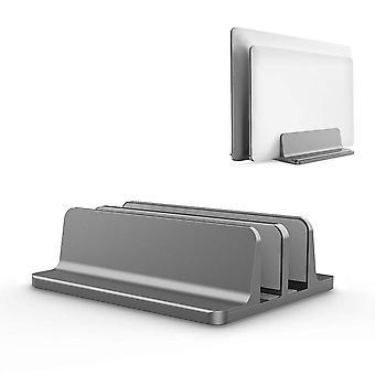 Vertical Laptop Stand For Macbook Air Pro Desktop Double Desktop Stand Holder