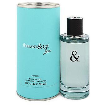 Tiffany & Love Eau De Toilette Spray By Tiffany 3 oz Eau De Toilette Spray