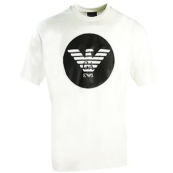 Emporio Armani Circle Logo Valkoinen T-paita