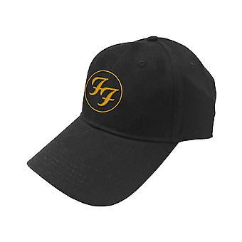 Foo Fighters Baseball Cap FF Band Logo new Official Black Unisex