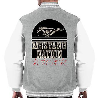 Ford Mustang Nation Men's Varsity Jacket