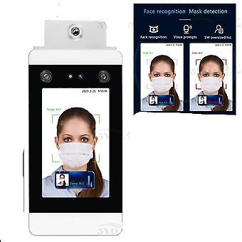Adgangskontrolsystem til temperaturmåling af ansigtsgenkendelse
