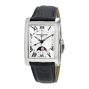 Frederique Constant Carree Silver Dial Men's Watch FC-330MS4MC6