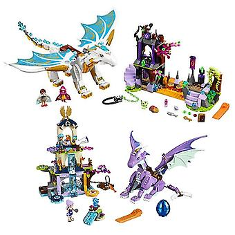 Queen Dragon's Rescue Compatible Lepinngl, Building Blocks