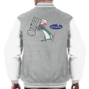 Pixar Ratatouille Remy Salt And Pepper Men's Varsity Jacket