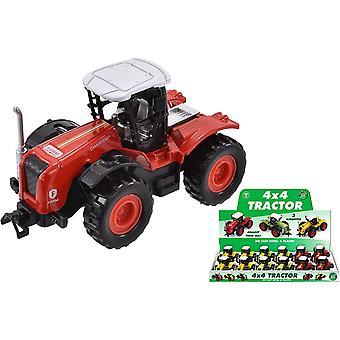 På gården die cast 4 x 4 traktor (en levereras)