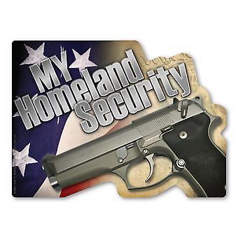 """المغناطيس ، والأمن الداخلي بلدي ، مسدس ، التعديل 2 ، 7 """"X 5"""""""