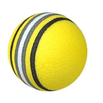 Golf Rainbow Ball EVA Espuma Bola Interior Prática Bola Esponja Bola De Brinquedo Esférico Diâmetro 42mm