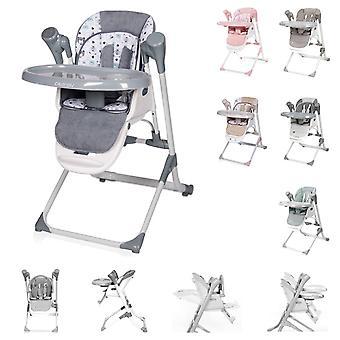 Chaise haute pour enfants Lorelli, baby rocker Ventura 2 en 1 dès la naissance, musique, réglable