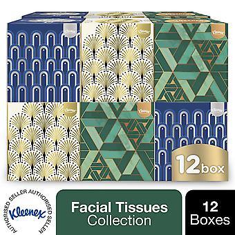 Kleenex Facial Tissues Collection - 12 Boxes