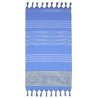 Animal Mira strand håndkle i støvete blå