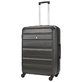 Aerolite (69x50x27cm) valise à bagages à coque dure moyennement légère avec 4 roues à filer pour une maniabilité à 360 degrés, 25 »