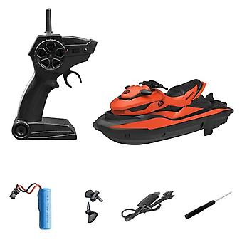 New cross border remote control boats RC Motorcycles(Orange)