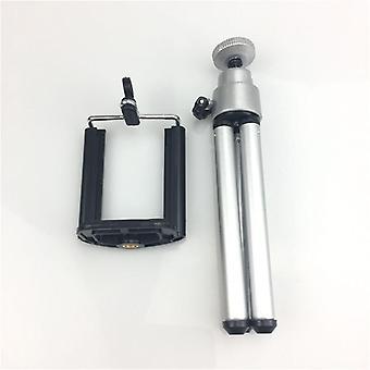 Mini Tripod For Smartphone Aluminum Metal Lightweight Tripod Stand Mount Phone