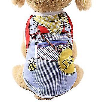M 7# falešná prak pet vesta, jaro a léto teddy mesh prodyšná vesta az7561