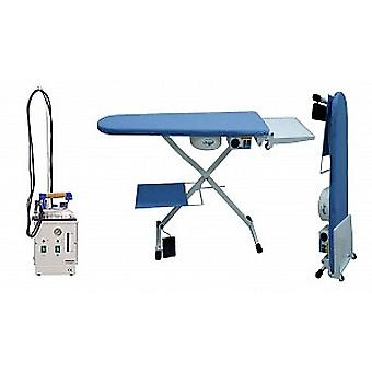 Snail Industrial Ironing System - 5-litre Boiler, Vacuum and Heated Ironing Table & Iron