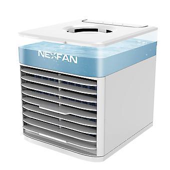 Kraftig køling bærbar ac nexfan rpg lyskøler køling befugtning rense værelse aaromatherapy 4 i 1, USB opladning let at rengøre bui awo93094