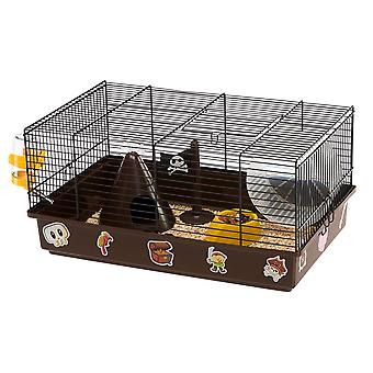 Ferplast Jaula Criceti 9 Pirates Negra (Small pets , Cages and Parks)