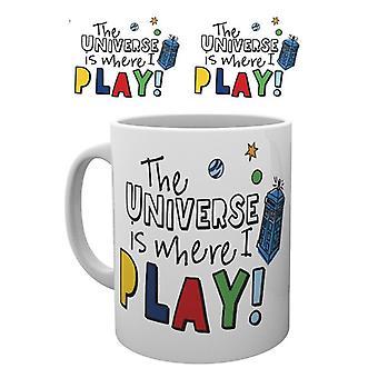 Doctor Who där jag spelar mugg