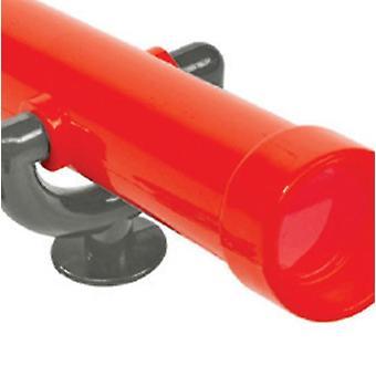 Extra stort leksaksteleskop av plast för lekplatsteleskop för barn, lekplatslekar för barn