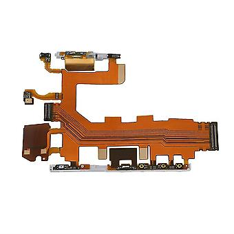 Volume/power Button & Microphone Flex Cable For Sony Xperia Z2 D6502/d6503