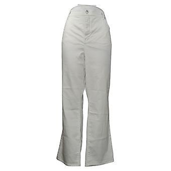 NYDJ Women's Jeans Petite Plus Straight Uplift en Embrace White A395678