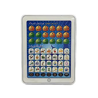 Dot Reading Machine Puzzle Early Education Machine Toy Tablet Learning Machine for Children-Blue