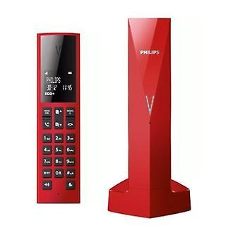 "Langaton puhelin Philips M3501R/34 Punainen 1,8"""