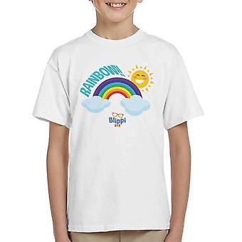 Blippi Rainbow Kid's T-Shirt