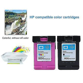 New Non-oem Ink Cartridge For Hp 302 Hp-302 For Hp Deskjet 2130 1110