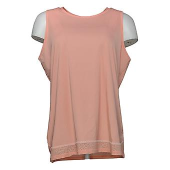 zuda Women's Top Reg Z-Sol Knit Tank Pink A377762
