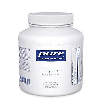 Pure Encapsulations l-Lysine Capsules 270 (LL2UK)