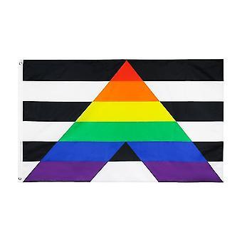 Flaggen Windsocken lgbt Regenbogen Stolz schwule hetero Verbündete Flagge