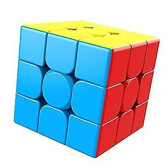 Magic Stickerless Cube Puzzle Professional Speed Educational For Students