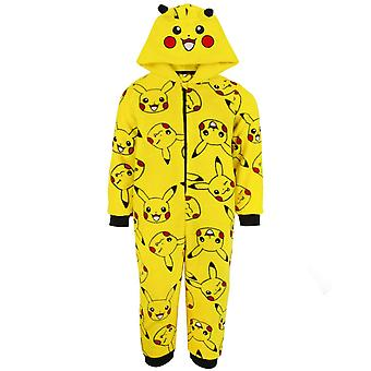 Pokemon Childrens/Kids Pikachu 3D Ears Sleepsuit