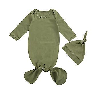 2 kappaletta vastasyntynyt vauva swaddle peitto makuupussit