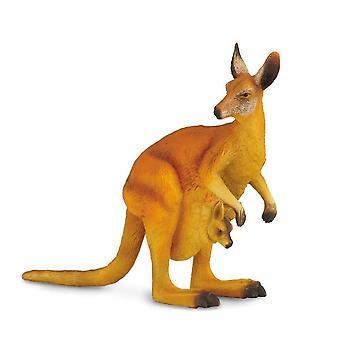 CollectA röd känguru