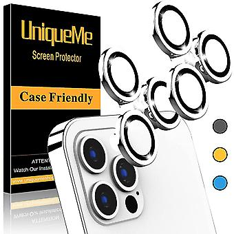 [2 Pack] UniqueMe Compatible with iPhone 12 Pro Max 6.7 inch Camera Lens Protector Camera Cover