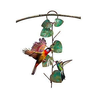 Metal Hanging Bird Feeder For Outdoor Garden Terrace Tree Trunks