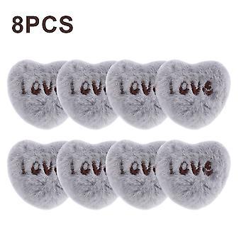 Clips de fijación de la cubierta de la colcha, 8 piezas, hechas de plástico antideslizante, utilizadas para fijar mantas, colchas, sábanas, dormir