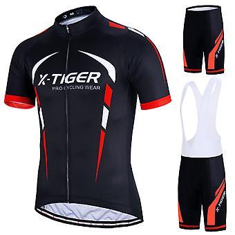 X-tiger-Mænds Mountain Bike Rider Professionel Tredelt Suit