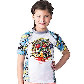 Fusion Kampf Gear Kid TMNT hängen drei Kurzarm Rashguard
