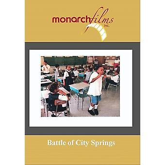 Battle of City Springs [DVD] USA import