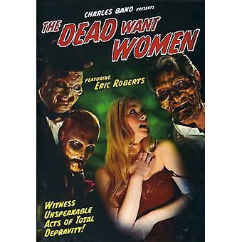 Dead Want Women [DVD] USA import