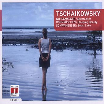 P.I. Tchaikovsky - Tschaikowsky: Nutcracker; Sleeping Beauty; Swan Lake [CD] USA import