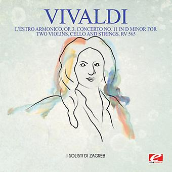 L ' estro Armonico, Opus 3 de Vivaldi - Concerto No. 11 en D menor [CD] USA importación