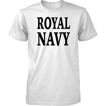 Royal Navy - Word - Kinder T Shirt