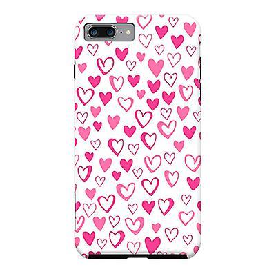 ArtsCase Designers Cases LoveHearts for Tough iPhone 8 Plus / iPhone 7 Plus