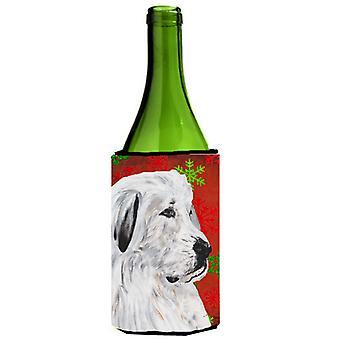 البرانس العظمى الثلج الأحمر عطلة زجاجة النبيذ المشروبات عازل نعالها