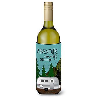 Roulotte Airstream aventure attend de bouteille de vin Beverge isolateur Hugger